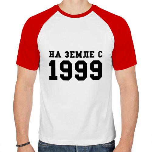 Мужская футболка реглан  Фото 01, На Земле с 1999