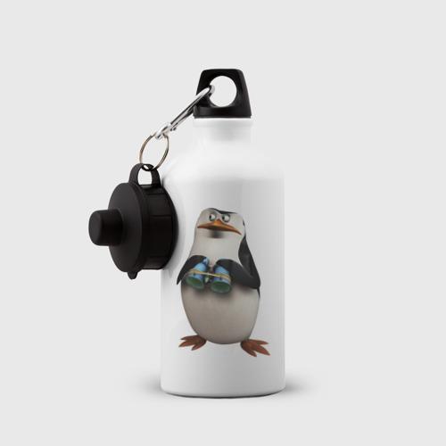 Бутылка спортивная  Фото 03, Пингвин с биноклем