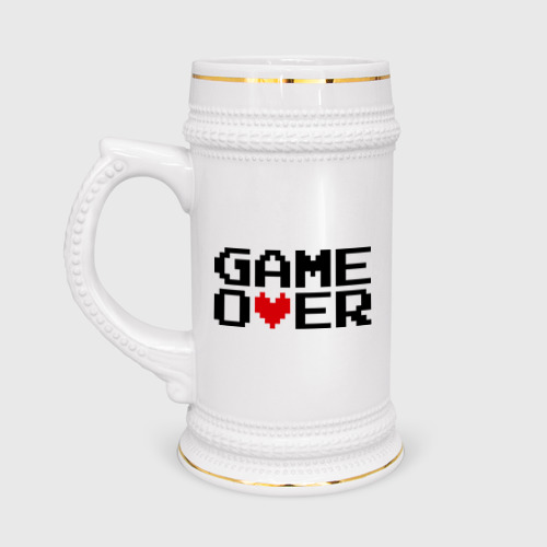 game over 8 bit