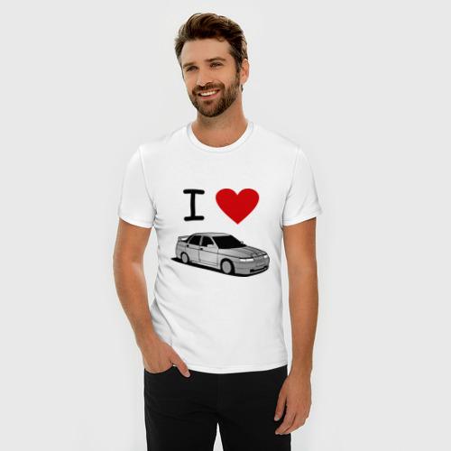 Мужская футболка премиум  Фото 03, I love десятка