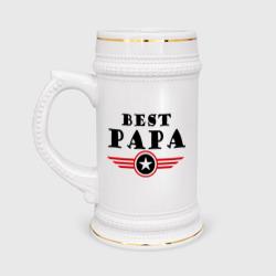 Best papa logo