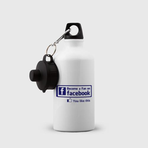 Бутылка спортивная  Фото 03, Become a fan on facebook