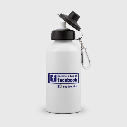 Бутылка спортивная  Фото 01, Become a fan on facebook