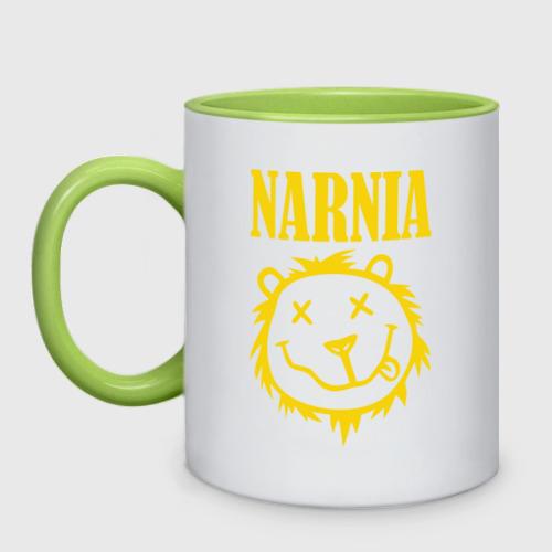 Кружка двухцветная  Фото 01, Narnia