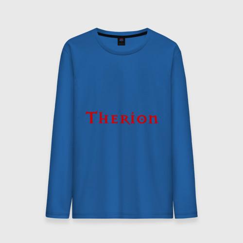 Мужской лонгслив хлопок  Фото 01, therion logo