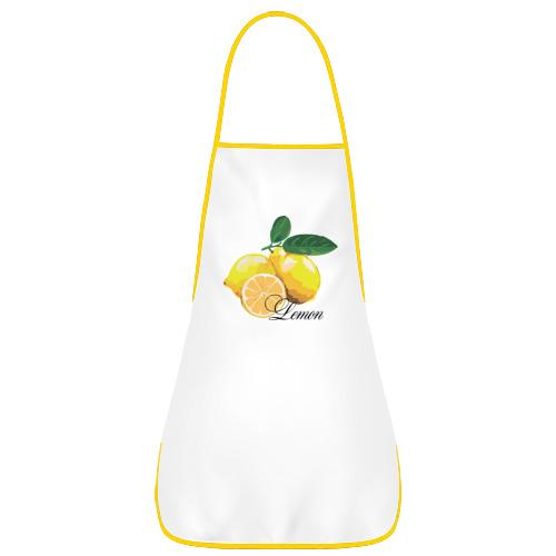 Фартук с кантом Lemon