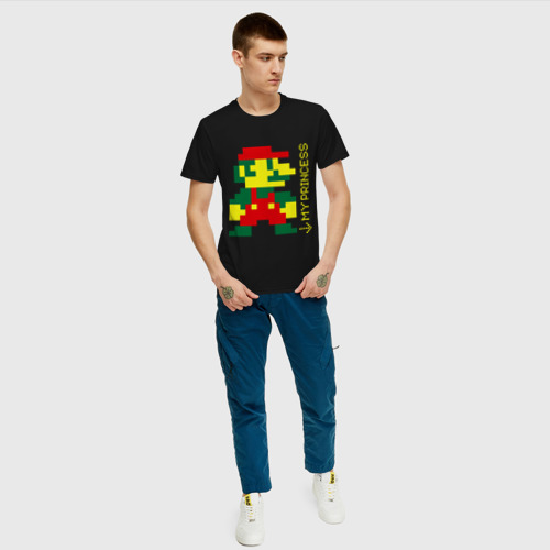 Мужская футболка хлопок Марио парная Фото 01