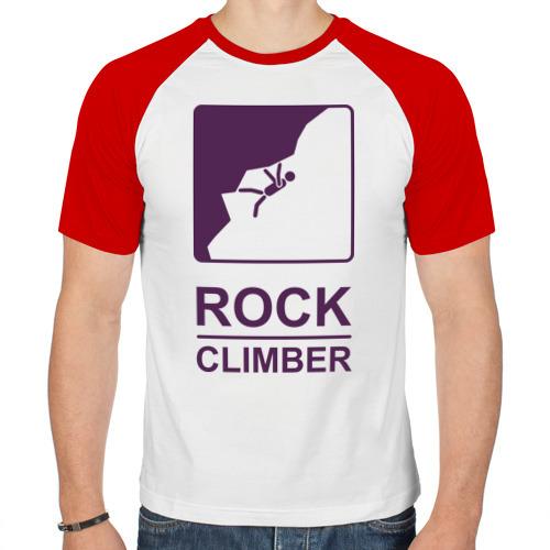 Мужская футболка реглан  Фото 01, Rock climber