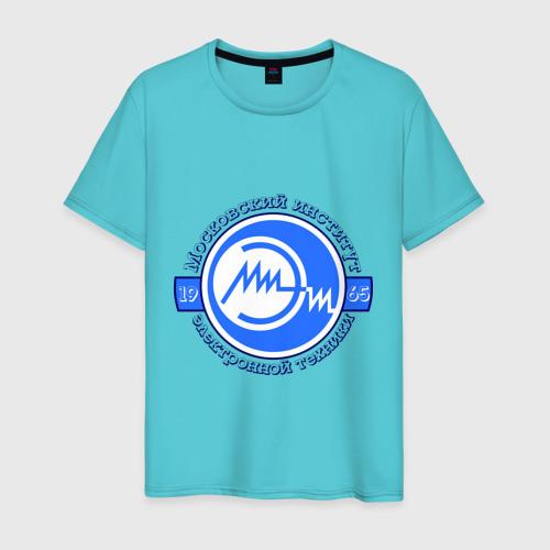 Мужская футболка хлопок МИЭТ Фото 01