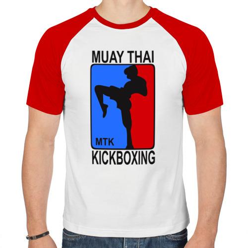 Мужская футболка реглан  Фото 01, Muay Thai  Kickboxing