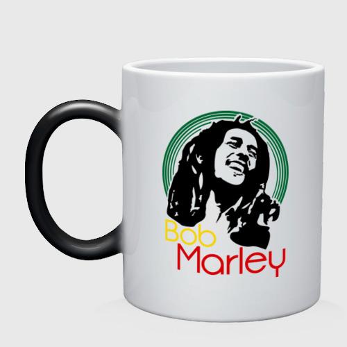 Кружка хамелеон  Фото 01, Saint Bob Marley