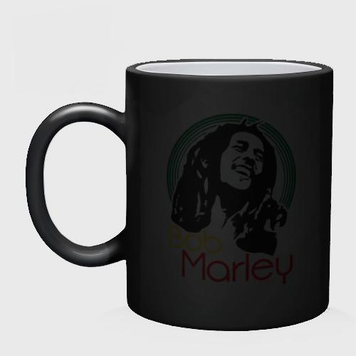 Кружка хамелеон  Фото 02, Saint Bob Marley