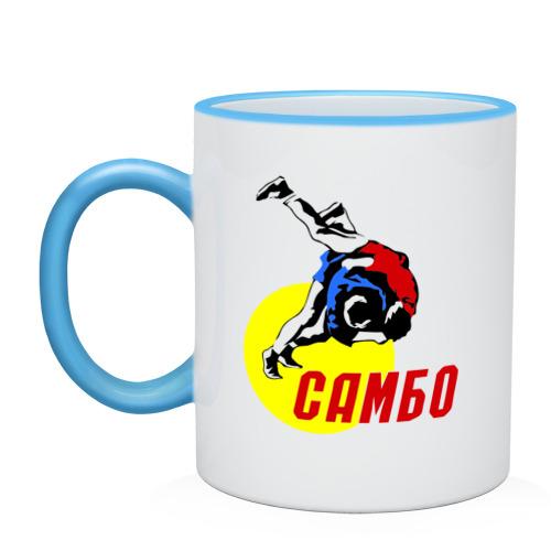 """Кружка с кантом """"Спорт самбо"""" - 1"""