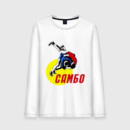 """Мужская футболка с длинным рукавом """"Спорт самбо"""" - 1"""