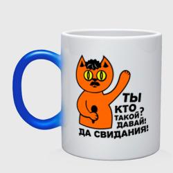 Кот, ты кто такой?