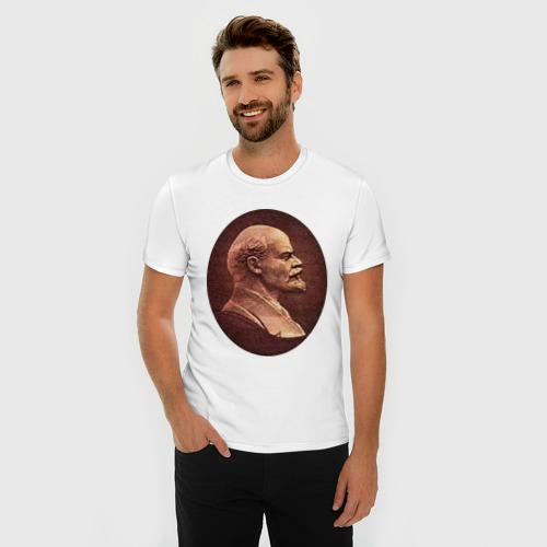 Мужская футболка премиум  Фото 03, Ленин с купюры