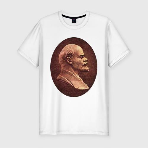 Мужская футболка премиум  Фото 01, Ленин с купюры