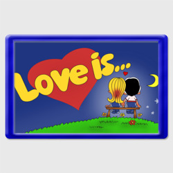 Love is logotip