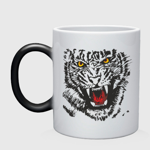 Тигр с клыками