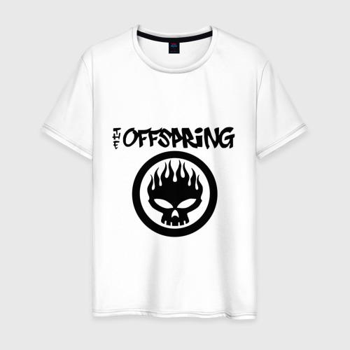 Мужская футболка хлопок The Offspring classic logo