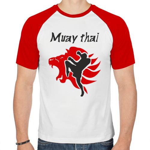 Мужская футболка реглан  Фото 01, Muay thai