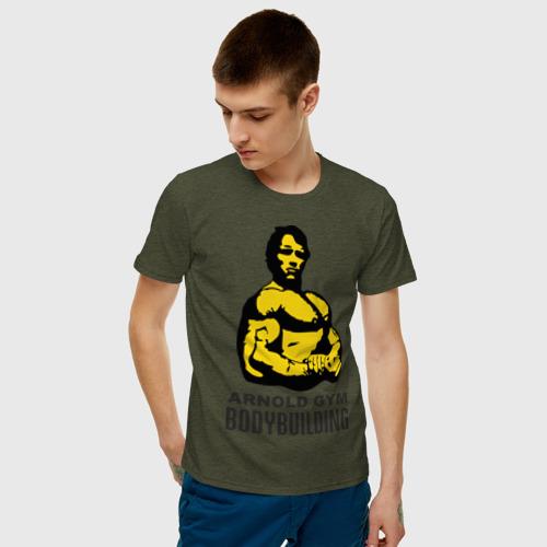 Мужская футболка хлопок Arnold bodybuilding Фото 01