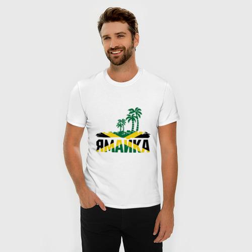 Мужская футболка премиум  Фото 03, Ямайка