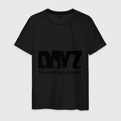 Мужская футболка хлопок  Фото 01, DayZ