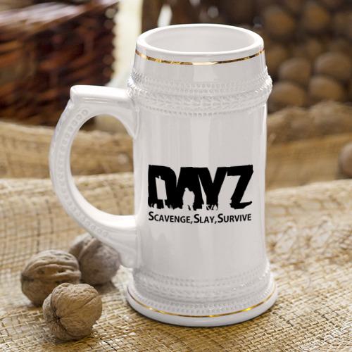 Кружка пивная DayZ Фото 01