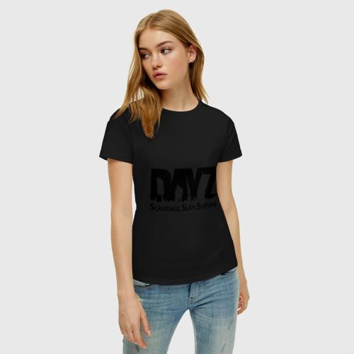 Женская футболка хлопок DayZ Фото 01