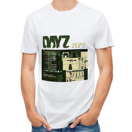 Мужская футболка полусинтетическая  Фото 01, DayZ лут