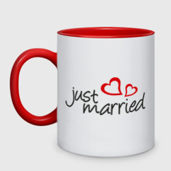 Just married (два сердца)