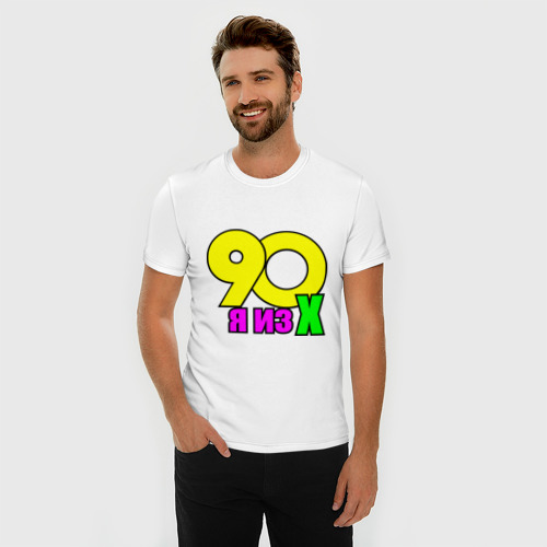 Мужская футболка премиум  Фото 03, я из 90-х