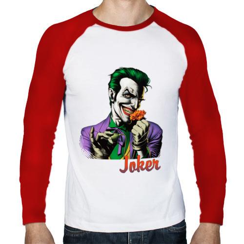 Мужской лонгслив реглан  Фото 01, Joker с цветком