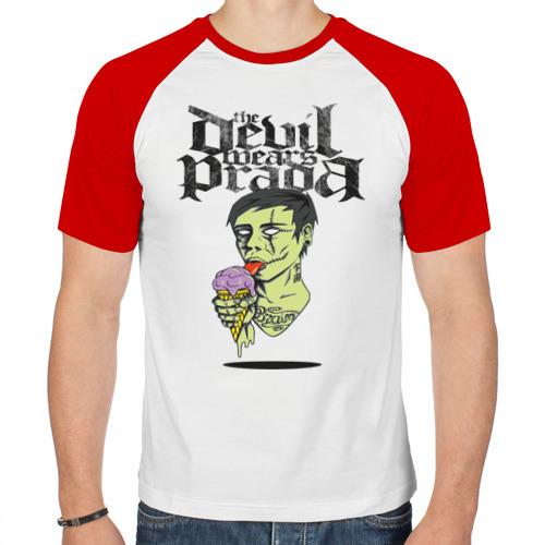 Мужская футболка реглан  Фото 01, the devil wears prada