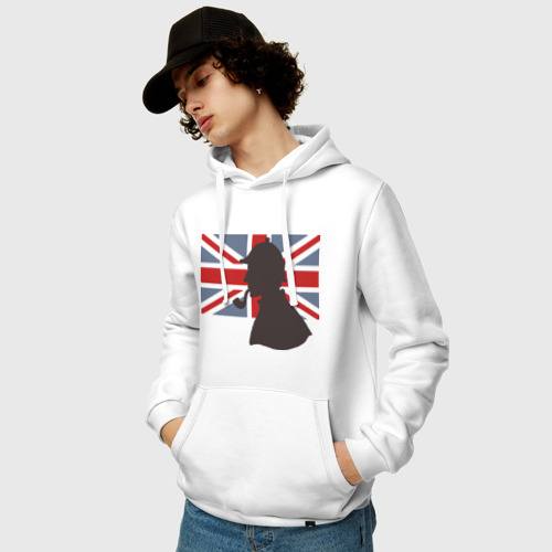 Мужская толстовка хлопок  Фото 03, Англия британский флаг