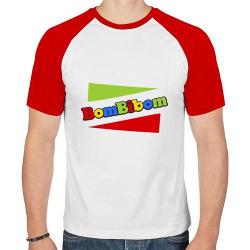 Мужская футболка реглан  Фото 01, Bombibom