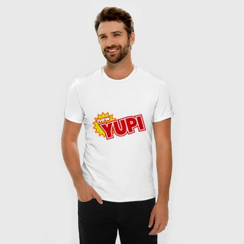 Мужская футболка премиум  Фото 03, Yupi
