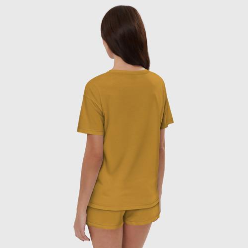 Женская пижама с шортиками хлопок Укушу Фото 01