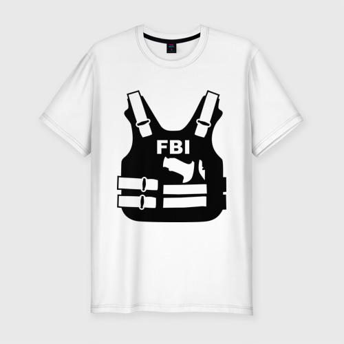 Мужская футболка премиум FBI (униформа)