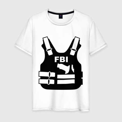 Мужская футболка хлопок FBI (униформа)