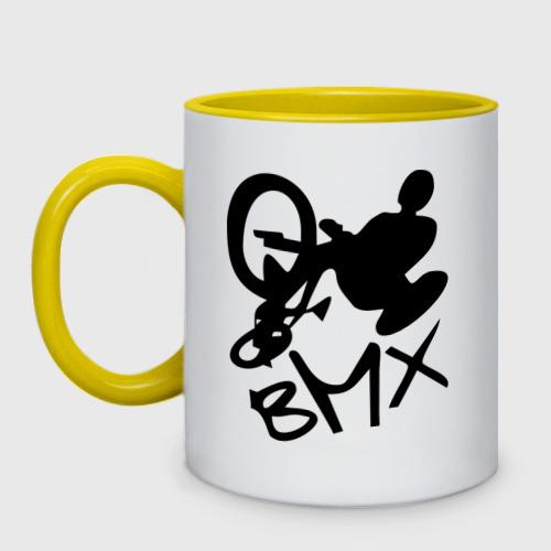 Кружка двухцветная  Фото 01, BMX