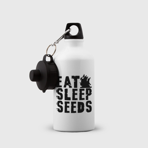 Бутылка спортивная  Фото 03, Eat sleep seeds