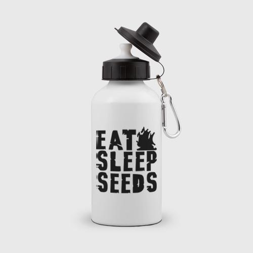 Бутылка спортивная  Фото 01, Eat sleep seeds