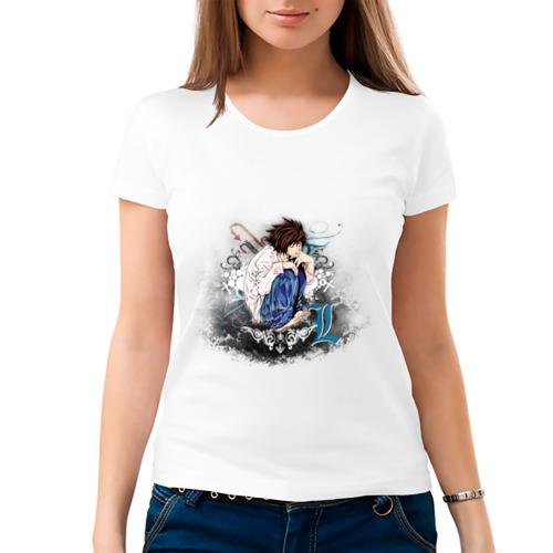 Женская футболка хлопок  Фото 03, angel of light L. Death note