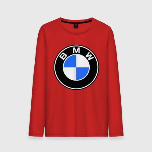 """Мужская футболка с длинным рукавом """"Logo BMW"""" - 1"""