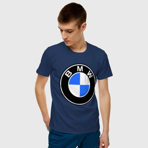 """Мужская футболка """"Logo BMW"""" - 1"""