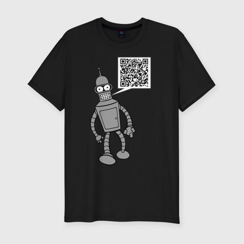 Мужская футболка премиум Построю свой мир Фото 01