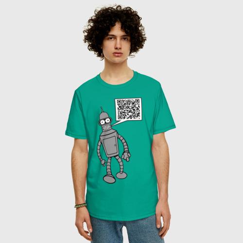 Мужская футболка хлопок Oversize Построю свой мир Фото 01