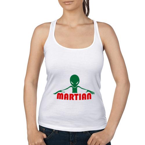 Женская майка борцовка  Фото 01, martian